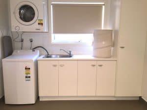 convenient cupboards