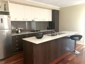 modern kitchen in Shepparton
